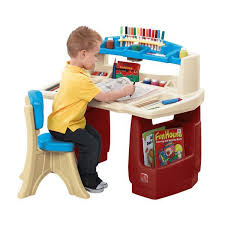Children Chair Desk Age Kids Room Design With Student Desks And Bright Decorating