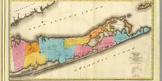New York Counties Map Suffolk County New York Genealogy New York Genealogy