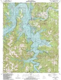 table rock lake map table rock dam 7 5 usgs topographic maps maps missouri