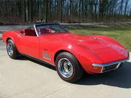 1969 convertible corvette 1969 chevrolet corvette convertible 138942