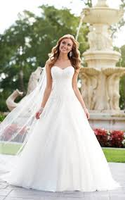 wedding dress a line a line bridal gown wedding dresses stella york