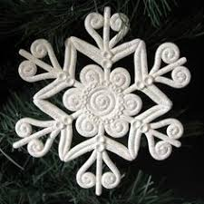 polymer clay tutorial snowflake in filigree technique