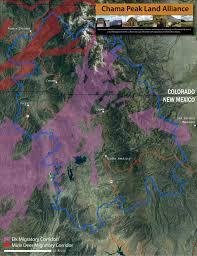 Elk Population Map Land And Wildlife Chama Peak Land Alliance