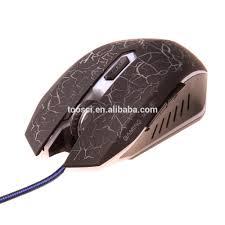 bureau en gros souris livraison gratuite rétro éclairage usb filaire souris avec