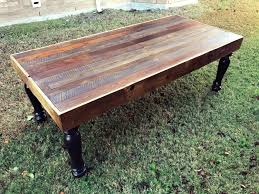 Rustic Reclaimed Outdoor Furniture Coffee Table Brooklyn Modern Rustic Reclaimed Wood Coffee Table