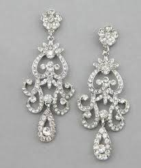 vintage wedding earrings chandeliers bridal chandelier earrings wedding jewelry rhinestone chandelier