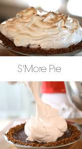 beth s s more pie recipe pie recipes thanksgiving and pies