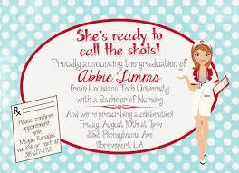 6 best images of free printable nursing invitations parties