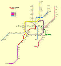 Shanghai Metro Map by Propertyinvesting Net Property Investment Special Reports 255