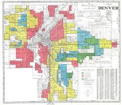 Map Denver Colorado by Denver Redlining Map Denverite