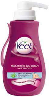 veet gel hair remover removal cream sensitive formula fast acting