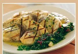 cuisiner espadon espadon à la sauce salmoriglio recette italienne sur gourmetpedia