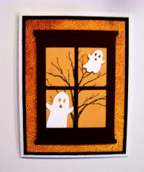 ann greenspan u0027s crafts grand madison window halloween cards