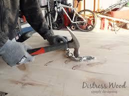 Distressing Diy by Diy Distressed Pallet Board
