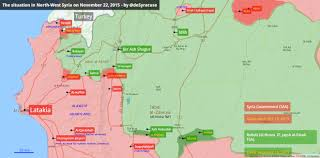 Map Of Syria And Russia Agathocle De Syracuse The Situation In North West Syria 22 Nov