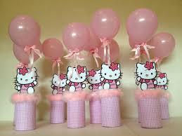 Hello Kitty Baby Shower Centerpiece Ideas