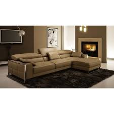canapé d angle design italien canapé d angle en cuir design beige achat vente canapé