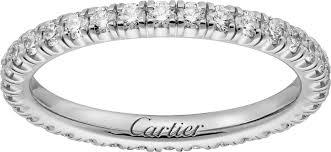 cartier alliance crb4077900 alliance etincelle de cartier or gris diamants