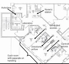 floor plan hospital figure floor plan of the care and isolation unit st patrick