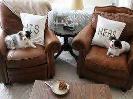 Leather Sofa With Pillows by Leather Sofa Good For Dogs Centerfieldbar Com