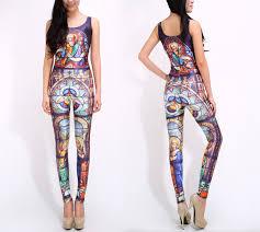 custom jumpsuits 2018 cool 2015 s fashion catsuit purple galaxy