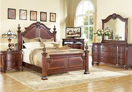 Berkshire Bedroom Set Shop For A Cortinella Poster 5 Pc Queen Bedroom At Rooms To Go