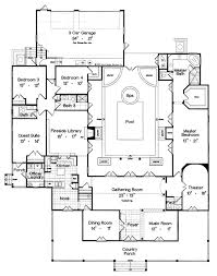 small luxury floor plans best 25 courtyard house plans ideas on house plans