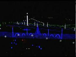 Heritage Park Christmas Lights Hallelujah Chorus Youtube