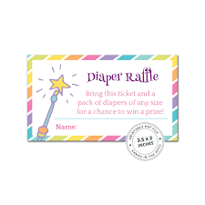 raffle baby shower rainbow baby shower raffle baby shower invitation insert