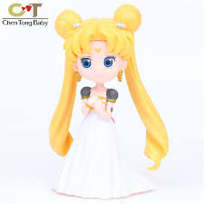 1pcs set sailor moon wedding dress style birthday cake decoration