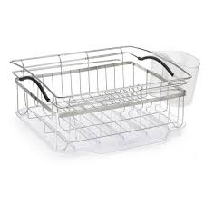 Dish Drainers Polder Compact Dish Rack Kth 250 The Home Depot