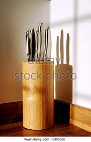 how to store kitchen knives kitchen knife block stock photos kitchen knife block stock