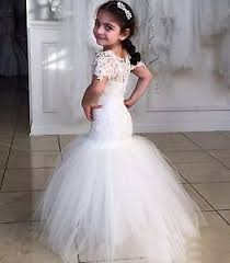 kids wedding dresses new lace princess mermaid flower girl dresses kids wedding