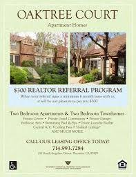 move in specials apartment flyer apartment marketing ideas