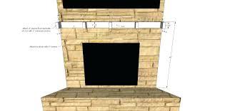 making fireplace mantel shelf build legs suzannawinter com