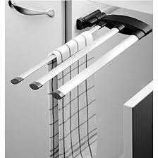Towel Racks Hafele  Bar Or  Bar Extendable Towel Racks For - Kitchen cabinet towel rack