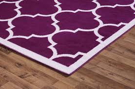 purple and pink area rugs large modern geometric moroccan trellis thin carpet purple