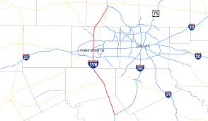 Map Of Dallas Fort Worth Interstate 35w Texas Wikipedia