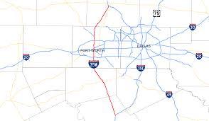 Dfw County Map Interstate 35w Texas Wikipedia