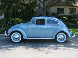 blue volkswagen beetle vintage thesamba com beetle oval window 1953 57 view topic