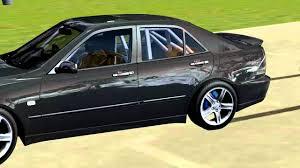 lexus is200 gumtree uk rfactor lexus is200 600 hp test youtube