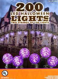 halloween tree purple 200 led halloween lights 2 strings of