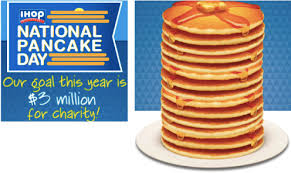 Get Free Pancakes At Participating Ihop National Pancake Day Free Stack Of Pancakes On March 4th
