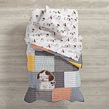 poky puppy toddler bedding the land of nod