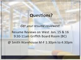 Get Your Resume Reviewed Maximizing Your Career Fair Experience