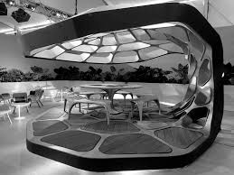 schumacher design zaha hadid designs volu dining pavilion for design miami zaha