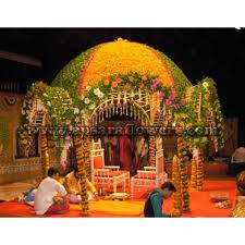 Hindu Wedding Mandap Decorations Wedding Mandap Chori Decoration 020