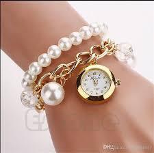 ladies bangle bracelet watches images Interesting idea bracelet watch for ladies women pearl jpg