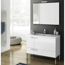 Modern Bathroom Vanity Sets by Modern 39 Inch Bathroom Vanity Set With Ceramic Sink Glossy