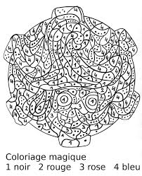 maternelle coloriage magique portrait de sorcière au chapeau